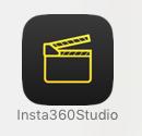 insta360専用アプリ「Insta360 Studio」のインストールが完了しました。