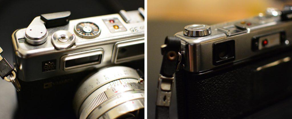 YASHICA Electro 35 GS(ヤシカエレクトロ35GS)の詳細写真