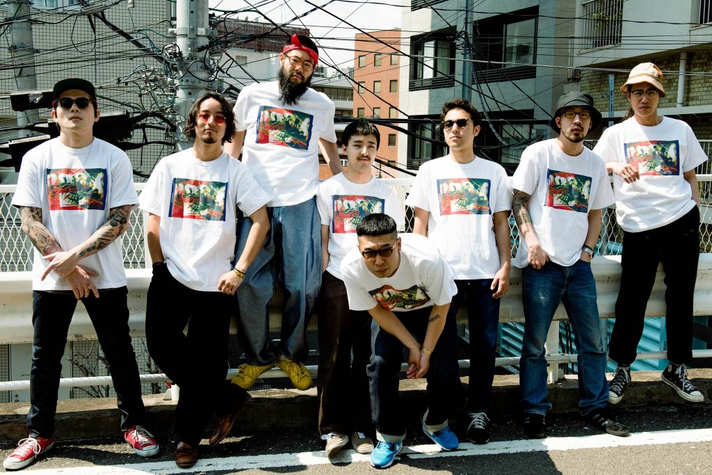 「SANABAGUN.(サナバガン)」は、ゴリゴリ悪そうな平成生まれの日本の8人組 JAZZ / HIPHOPグループ 名前は、英語のスラング「Son of a gun(ならず者)」からきている