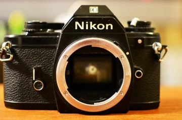 【作例紹介】Nikon EM フィルムカメラ ニコンEM