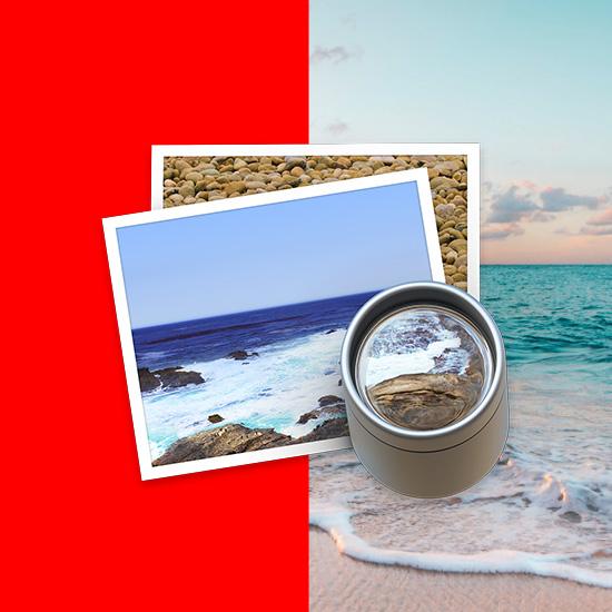 背景を透明にすることで、下の画像のように他の画像の上に配置した時に違和感なく合成することができます。