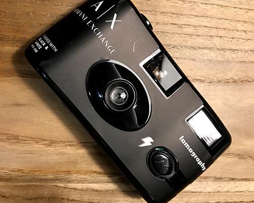 A|Xアルマーニアクスチェンジのノベルティでもらったlomo(ロモ)のフィルムカメラ使ってみた