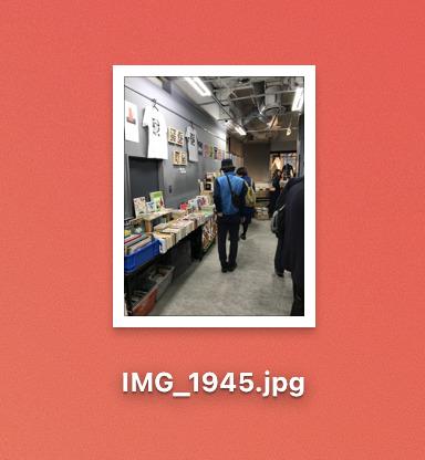MACで簡単にHEIC画像をjpg画像に変換することができました。
