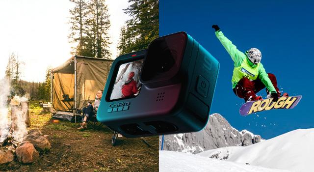 GoProは使う時だけレンタル!最安値は4,400円から!【キャンプやスノボーに】
