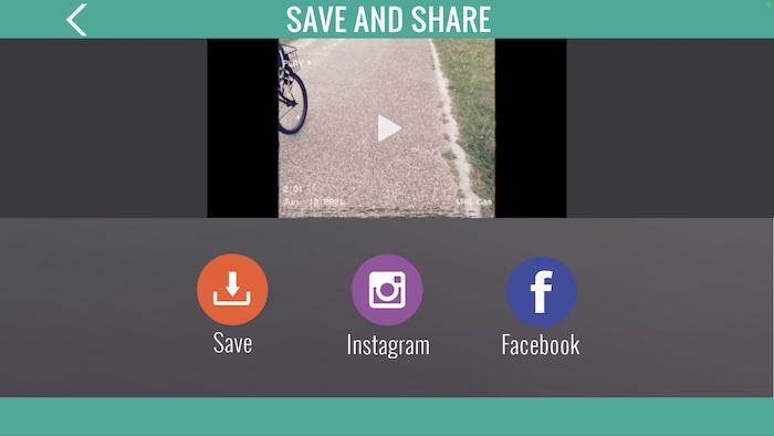 VHS風動画アプリ「VHS Cam - Retro Camcorder FX」の特徴はその場でシェアもできる