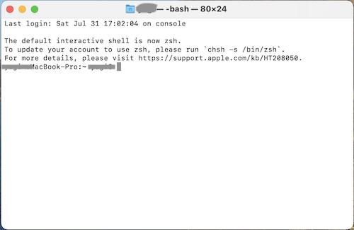 ターミナル起動画面に保存形式を「jpg」に変更する指示を書き込むだけです。
